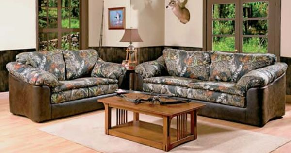 They Put Camo On It Den Furniture Camo And Camo Living Rooms