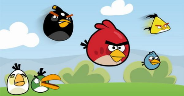Angry Birds Space Wallpaper For Kids Bedroom Wall Decals Stickers Designs Ideas Angry Bird Pictures Angry Birds Cartoon Birds
