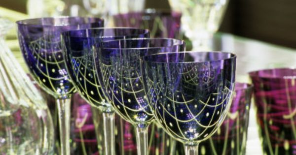 Crystal Glasses Baccarat Art De La Table Baccarat Verre
