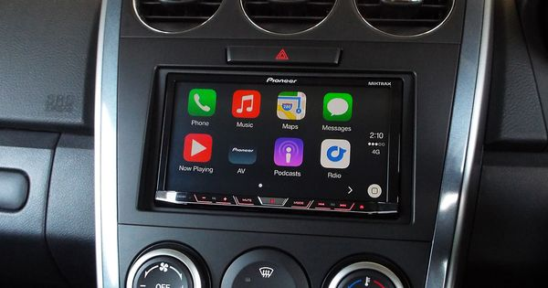 mazda cx 7 with apple carplay installed by drivesound. Black Bedroom Furniture Sets. Home Design Ideas