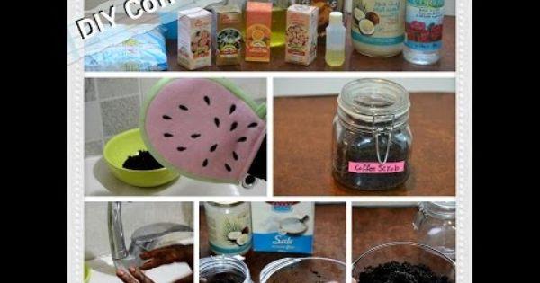 Diy Coffee Scrub طريقة عمل مقشر القهوة الشهير Mona M Coffee Food Breakfast