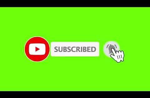 Animasi Tombol Subscribe Green Screen Untuk Video Youtube Youtube Jenis Huruf Tulisan Teks Lucu Ilustrasi Bisnis