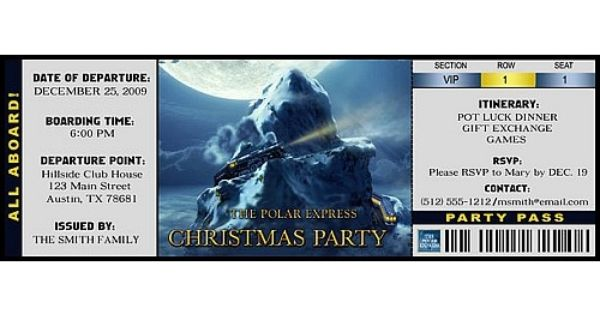 Christmas idea house tickets