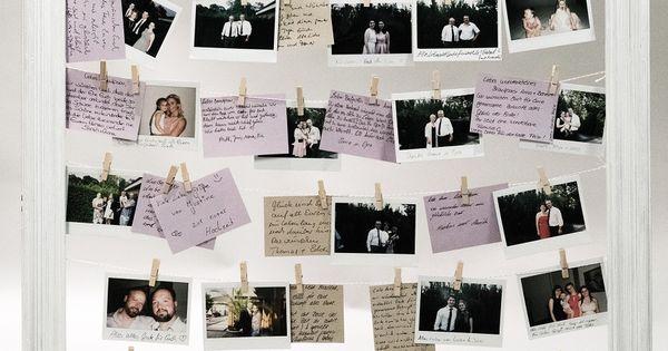 Das alternative diy polaroid g stebuch bild polaroid for Polaroid fotos deko