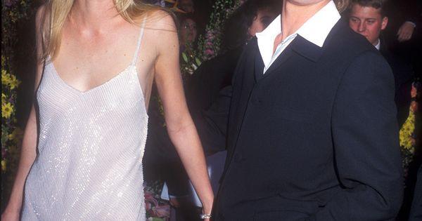 The 1996 Oscars Red Carpet Gwyneth Paltrow Brad Pitt