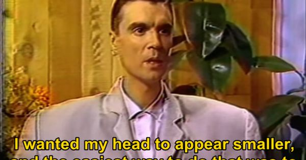 The Weird Wide Web Talking Heads David Byrne Songs