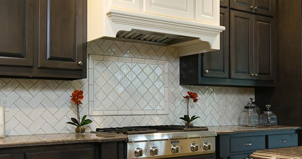 Backsplash Highland Park Color Antique White In 3x6 2x6