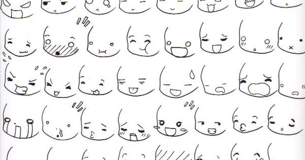 Chibi Expressions By Nataliaarizpe On @DeviantArt