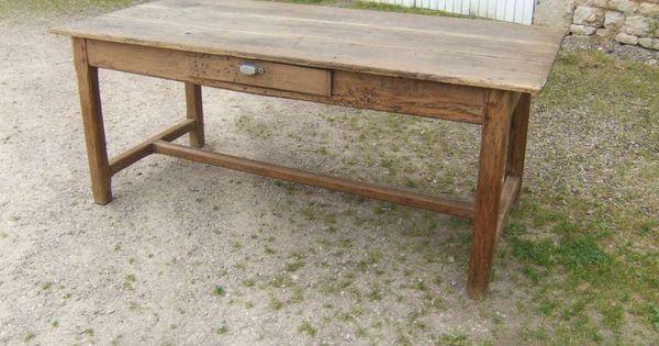 Table De Ferme Ancienne à Vendre