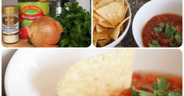 Homemade salsa, Salsa and Homemade on Pinterest