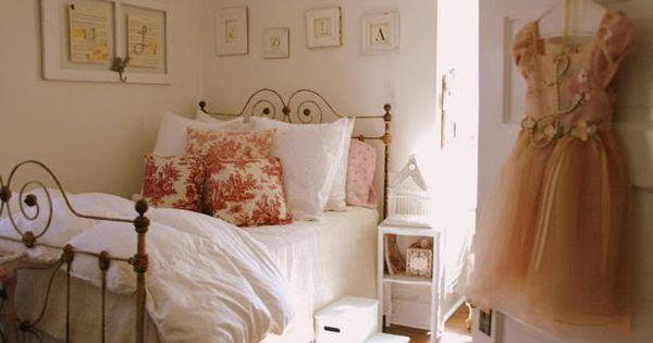 Cute girl rooms cottage style dormitorio para chica - Dormitorio estilo romantico ...