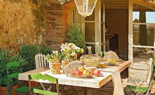 Comedores r sticos al aire libre patios or outdoors for Comedores rusticos pequenos