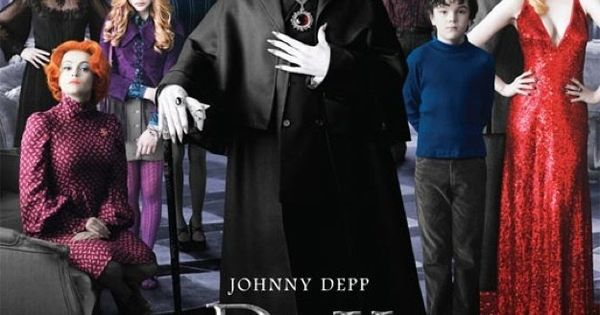 Dark Shadows. 05.11.12 Starring Johnny Depp, Helena Bonham Carter, Chloe Moretz, Eva