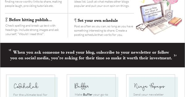 A quick and easy guide to starting and building a blog, including generating traffic, monitoring your progress and making money. #blogging