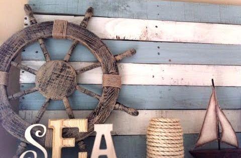 diy pallet idea | ... Decor | Nautical Decor | Seashell Decor: