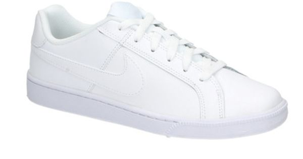 Nike COURT ROYALE witte lage sneakers   25823   SOOCO