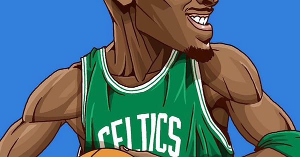 Kevom Garnett. Tap To See Collection Of Famous NBA