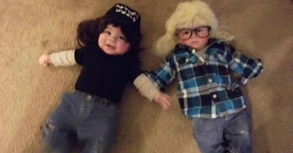 OMG. These kids will never understand how awesome this is. Halloween costume