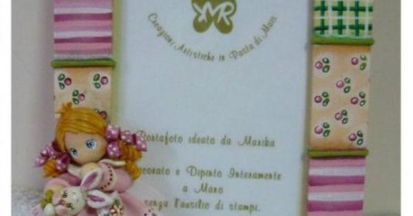 Idee regalo e bomboniere in pasta di mais portafoto for Idee regalo doors