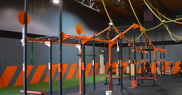 Crossfit gym design outfitting commercial
