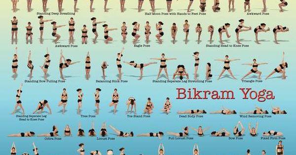 bikram yoga 26 postures 2 breathing exercises yoga pinterest bikram yoga. Black Bedroom Furniture Sets. Home Design Ideas