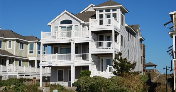 Serenity 361 L Kill Devil Hills Nc Outer Banks Vacation Rental Home L Oceanfront Home With