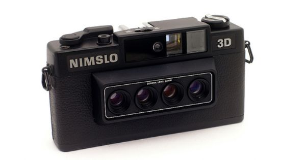 Nimslo 3d Camera Iphone Camera Accessories Camera Camera