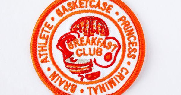 Breakfast Club Patch By Moonwalkerclub On Etsy Patchy