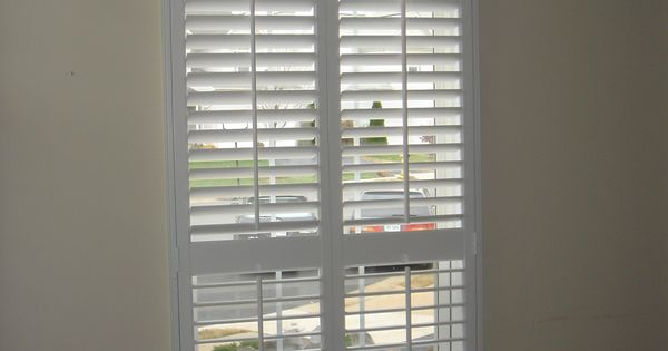 2 1 2 Quot Interior Shutters With A Sunburst Shutters By The