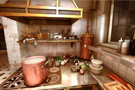 Virtual Tour Of Ratatouille Ratatouille Disney Ratatouille Movie Ratatouille