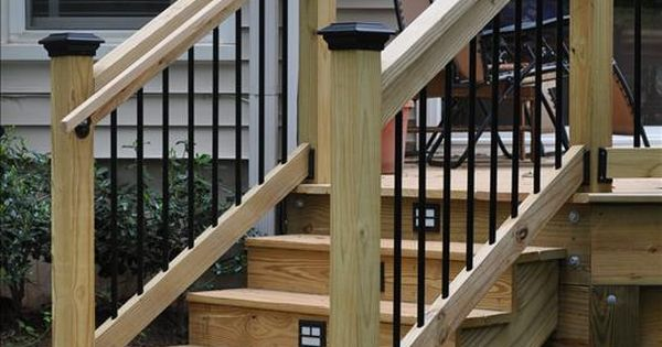 Best Deck Step Railing Deck Stair Railings Decks Com 640 x 480