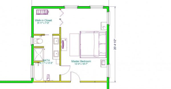 Inspirational Master Suite Floor Plans For Bedroom And