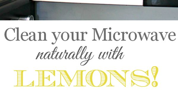 cleaning microwave with lemons natural cleaning tip mom kitchen sinks and all. Black Bedroom Furniture Sets. Home Design Ideas