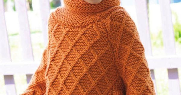 Very cute, but fringe instead of knitted leaves Knitting ...