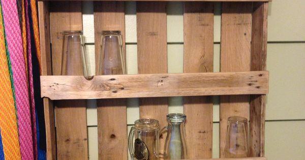 ... glass shelf | DIY | Pinterest | Shelves, Glass shelves and Pallets