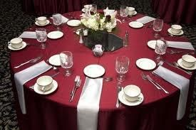 Pin By H Brown On Wedding Ideas Silver Table Settings Red Wedding Decorations Wedding Table Settings