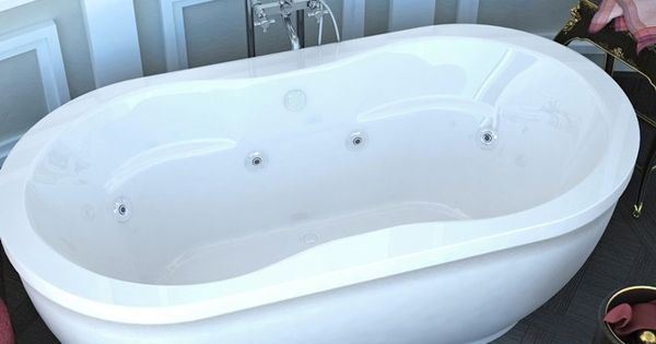 Monet 34x71 In Freestanding Whirlpool Jetted Bathtub