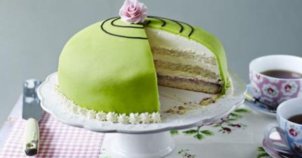 BBC - Food - Recipes : Prinsesstårta, Mary Berry from The Great