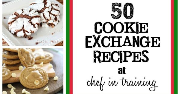 50 Cookie Exchange Recipes. I will be using this at Christmas time!