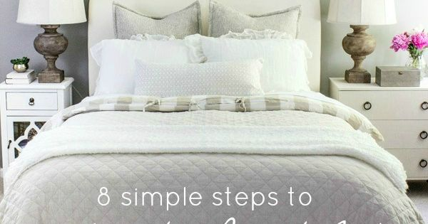 8 Simple Steps To Making The Perfect Bed Step Guide