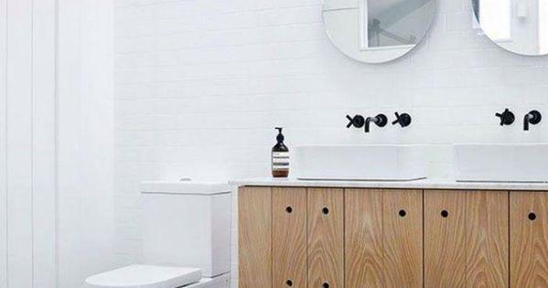 La salle de bain scandinave en 40 photos inspirantes for Robinet mural salle de bain