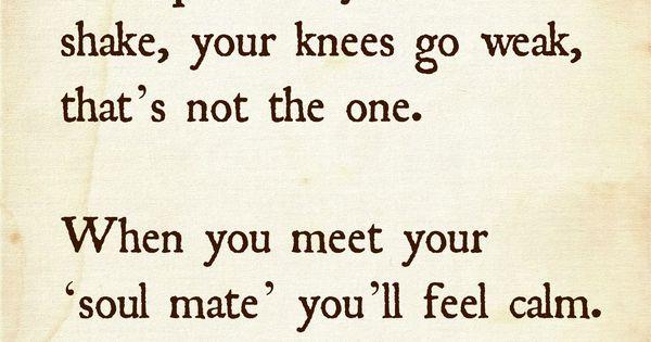 you meet soulmate