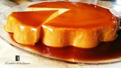 Pastel De Naranja Y Caramelo Sin Horno Pastel De Naranja Pastel De Caramelo Flan De Naranja