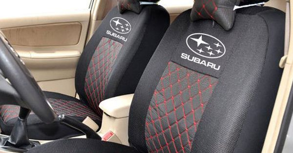 best price on silk sandwich embroidery logo car seat cover for subaru xv forester outback. Black Bedroom Furniture Sets. Home Design Ideas