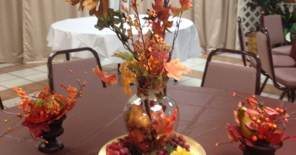 Autumn decoration for pastor appreciation day ...