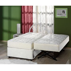 The Sensational Complete High Rise Trundle Bed 500 Lbs Weight Capacity Sufs Roll Away Beds Pop Up Trundle Bed Pop Up Trundle
