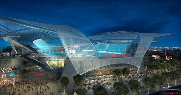 Work On L A Stadium Could Begin By March 13 Stadium Design Nfl Stadiums New Nfl Stadiums