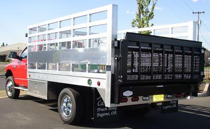 Aluminum Truck Flatbed Bodies Truck Body Stake Bodies Custom Flatbeds In 2020 Truck Flatbeds Custom Flatbed Trucks