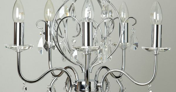 Bedroom Ceiling Lights Bhs : Chrome fearne light chandelier ceiling lights