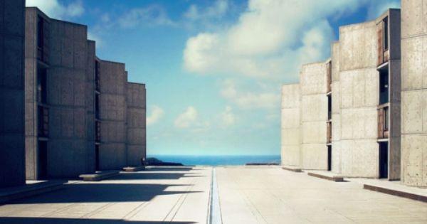 Salk Institute for Biological Studies by Louis Kahn Salk LouisKahn UCSD